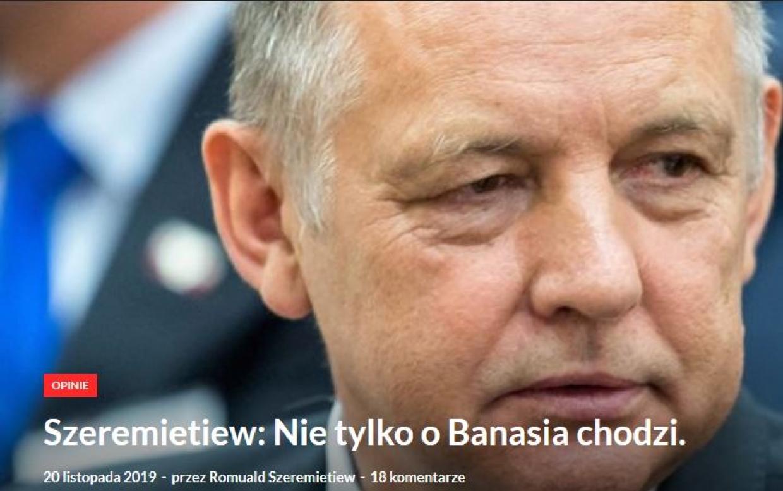 """Ważne głosy w """"sprawie"""" Prezesa NIK Mariana Banasia"""
